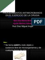 Procedimientos Antimicrobianos en El Ejercicio de La Cirugia