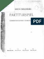 Heinrich Creuzburg Partiturspiel i