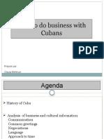 Cuba Presentation