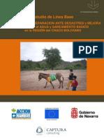 Informe de encuesta sobre percepción de sequía y situación hidrosanitaria en comunidades guaraníes del Chaco Boliviano