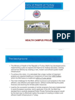 PPP Health Campus Projects