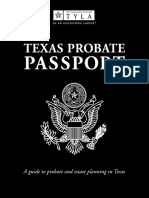 Texas Probate Passport 2015 | Will And Testament | Power Of