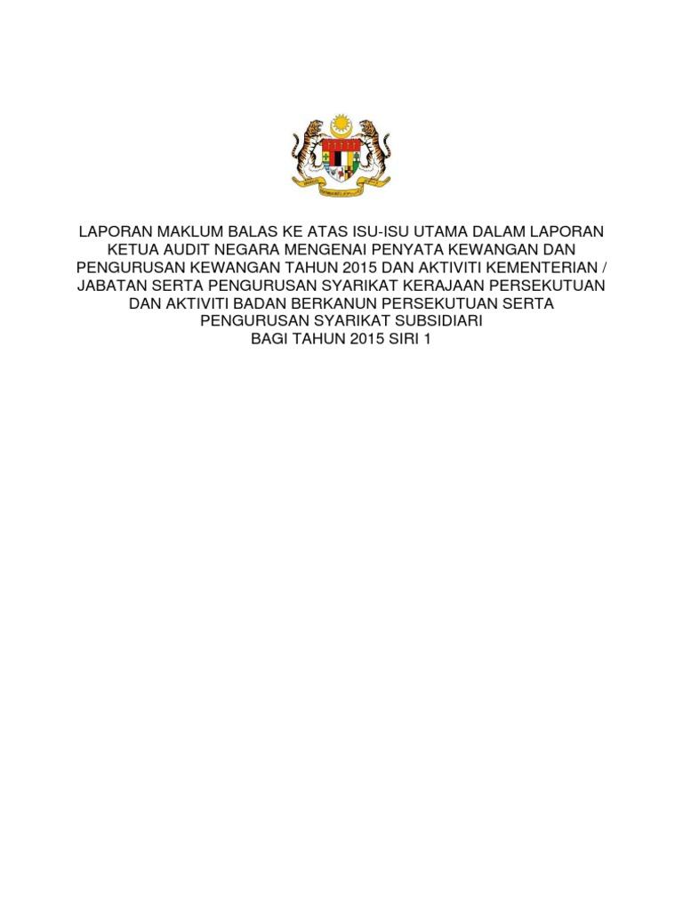 4 - Maklum Balas Perbendaharaan Malaysia 4efd2d4830