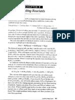 Limiting Reactants Practice