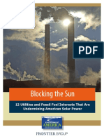 Blocking the Sun