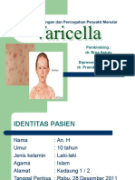 Penanggulangan Penyakit Menular Varicella