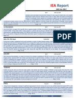 IEA Report 24th January