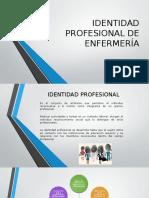 Identidad Profesional de Enfermería