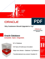 Why Should Customers Upgrade to ORACLE Server 11g Release 2