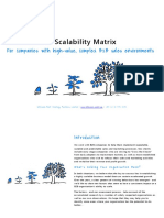 An Introduction to the Business Scalability Matrix