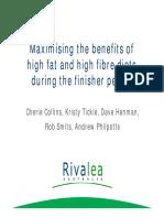 Fat & Fibre in Pigs