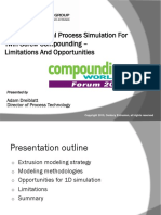One-Dimensional Simulation for Twin Screw Compounding