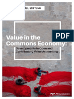 Value in the Commons Economy