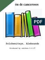 Pabellon de Cancerosos - Solzhenitsyn Aleksandr