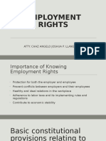 Employment Rights