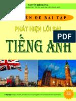 Chuyên Đề Bài Tập Phát Hiện Lỗi Sai Tiếng Anh-Nguyễn Tiến Dũng.pdf