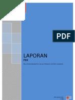 laporan PBK ( Pembelajaran Berwawasan Kemasyarakatan)