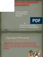 Introduction to Production Planning and Control