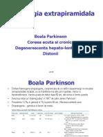 Curs 14.Patologia Extrapiramidala 2017 Text