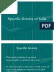 Specific Gravity of Soils