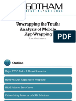 Mobile Application Wrapping Solutions