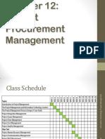 Ch12_Project Procurement Management
