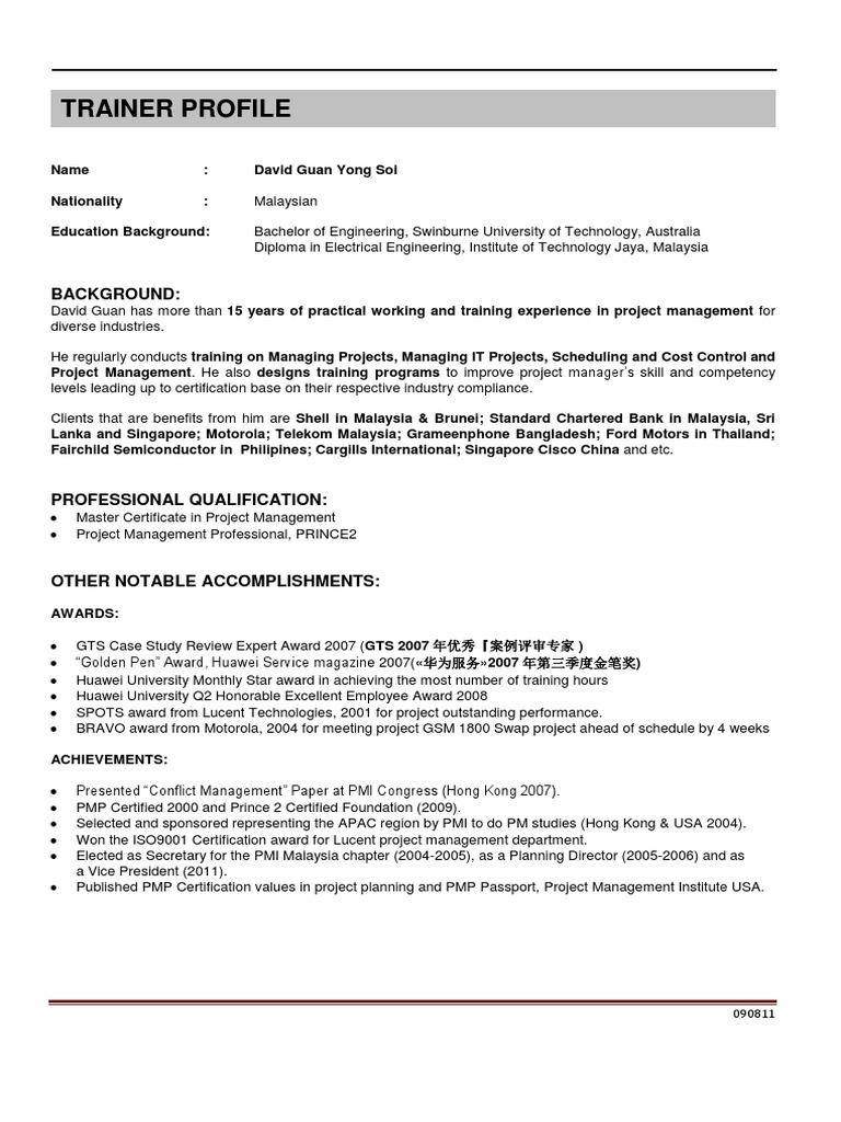 Project Project Management Project Manager
