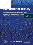 Innovation and the City 2016