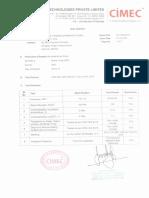 CIMEC ECE R90 Compilance Test Report for Sm1&2 Sm3&4