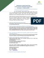FAQ Seleksi Tahap II PN 5
