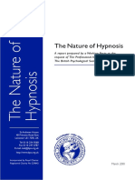 Nature of Hypnosis