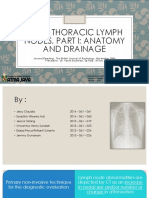 Journal Reading - CT of Thoracic Lymph Nodes. Part I Anatomy and Drainage