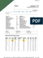 2000 KVA Caterpillar 3516 Gen Set Data Sheet