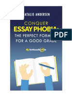 Conquer Essay Phobia the Perfect Formula for a Good Resume