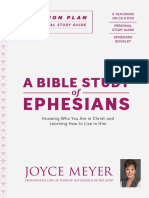 A Bible Study of Ephesians - Joyce Meyer