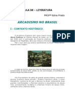 Literatura - Aula 08 - Arcadismo no Brasil