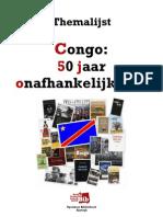 """Themalijst """"Congo"""