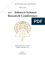 69th TSRC Prog Abstracts 2015