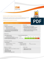 Techsheet Sheet - PrivateGSM VoIP