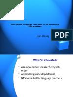 Non-Native Language Teachers in ESL Courses - Copy