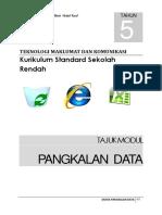 Modul Dunia Pengkalanan Data Tahun 5 Bhg 4