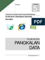 Modul Dunia Pengkalanan Data Tahun 5 Bhg 5