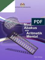Modul Abakus Dan Aritmetik Mental Edisi Ketiga