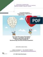 Teatro de La Sensacion-taller Intesivo de Inteligencia Emocional Febrero 017