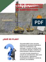 Planeamiento en Operaciones de Perforación y Voladura
