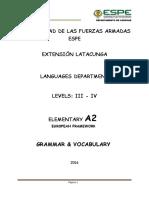 3 - 4 Grammar