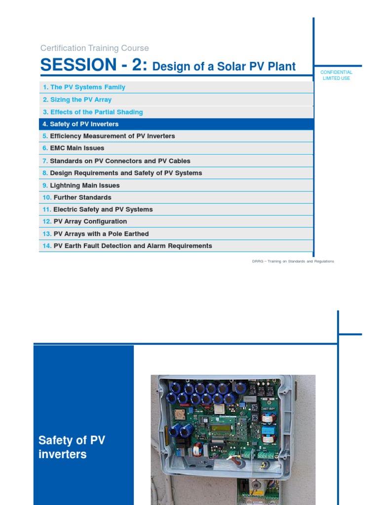 2 3 DEWA Training - Design of a Solar PV System - Part 2