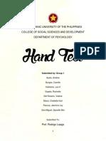 Hand Test PDF