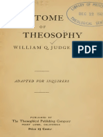 An Epitome of Theosophy, William Quan Judge