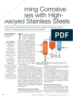 Overcoming Corrosive Processes With High-Alloyed Stainless Steels